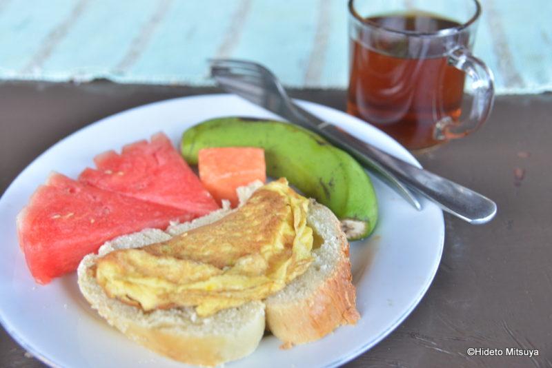 カナワビーチリゾートの朝食