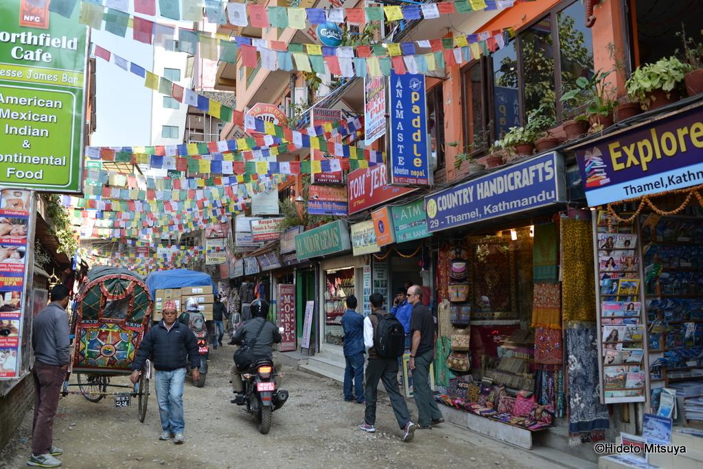 【ネパール】タメル地区(Thamel)便利地図