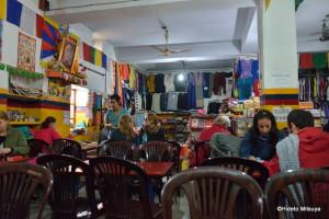 Tibet Om Cafe店内