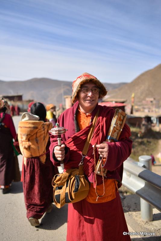 チベット仏教僧