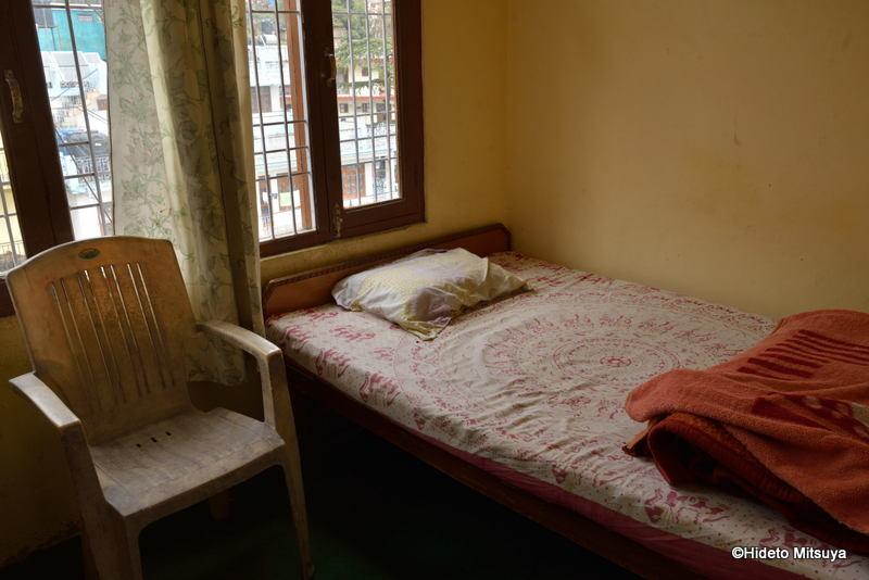 マクロードガンジのビクトリアハウスバス・トイレ共同シングルルーム
