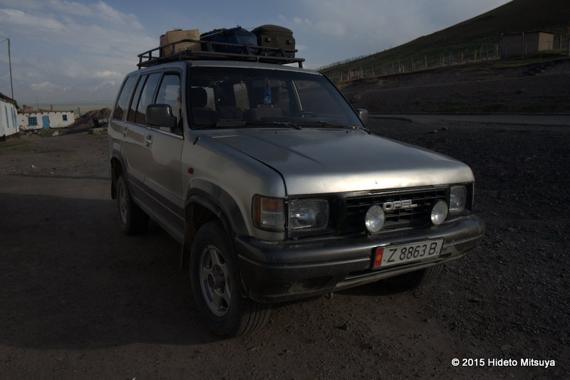 タジキスタン国内移動情報(パミール・ワハーン含む)