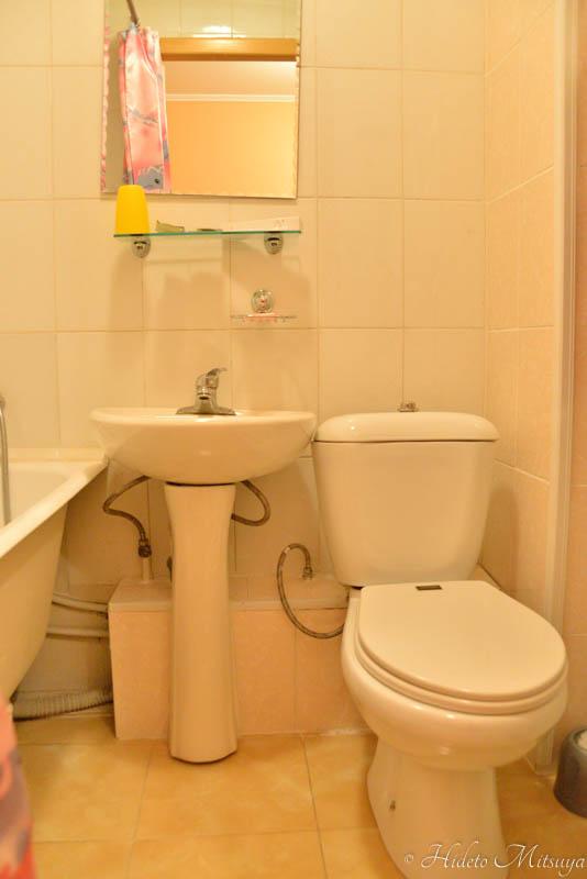 ウスリースクホテルトイレ・シャワールーム
