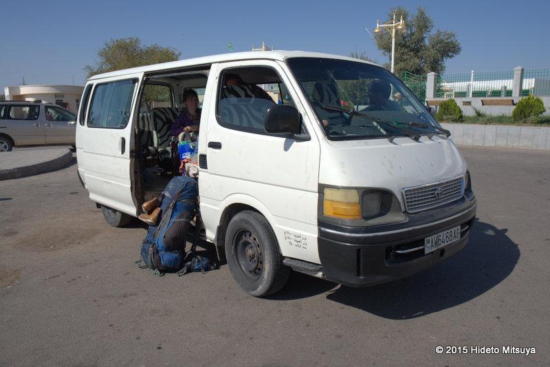 トルクメニスタン国内移動情報