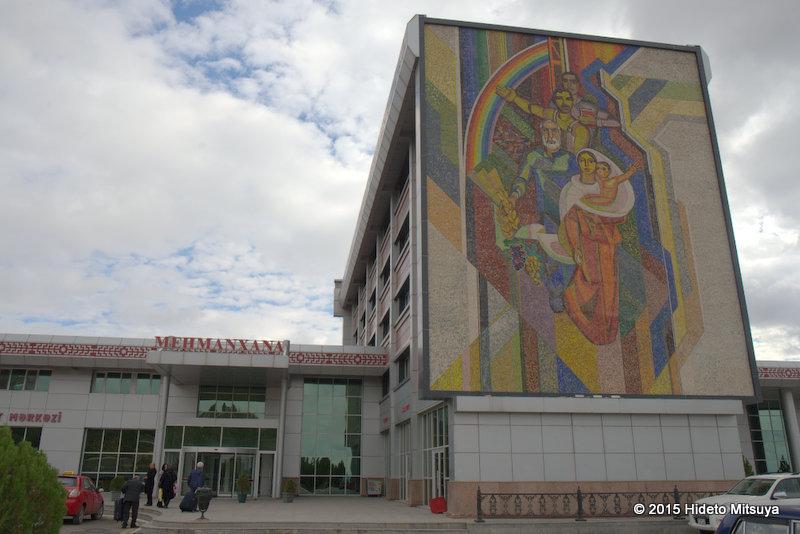 【アゼルバイジャン】ナヒチェバンシティ格安ホテル情報Hotel Avtovagzal
