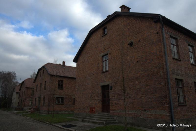アウシュヴィッツ強制収容所の被収容者棟