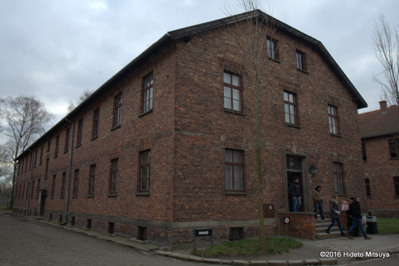 アウシュヴィッツ強制収容所内の中心となる博物館