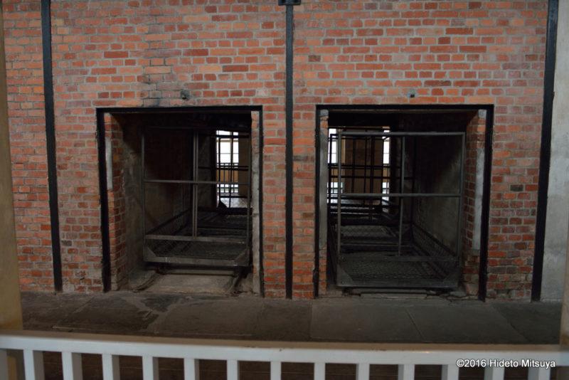 ビルケナウ第二強制収容所の博物館内部の様子3
