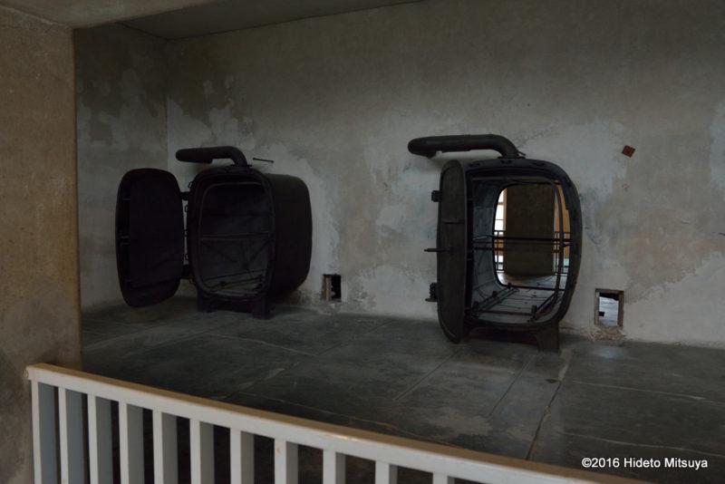 ビルケナウ第二強制収容所の博物館内部の様子4