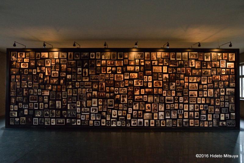 ビルケナウ第二強制収容所の博物館内部の様子5