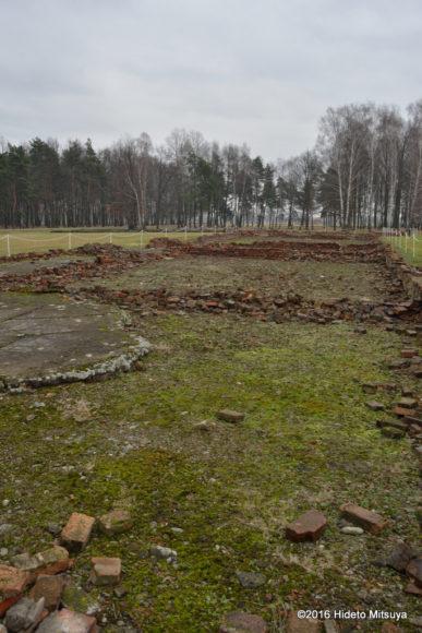 ビルケナウ第二強制収容所ソンダーコマンドによって破壊されたクレマトリウム4