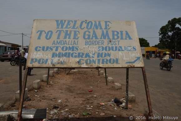 ガンビア国境