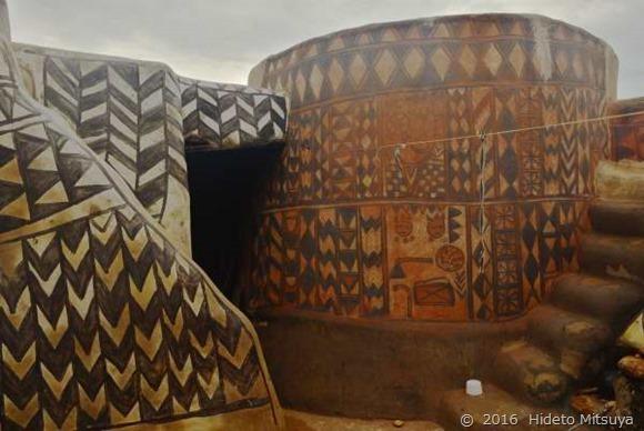 チェベレの伝統住居