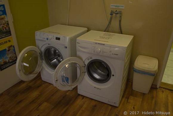 洗濯機乾燥機が無料で使えます