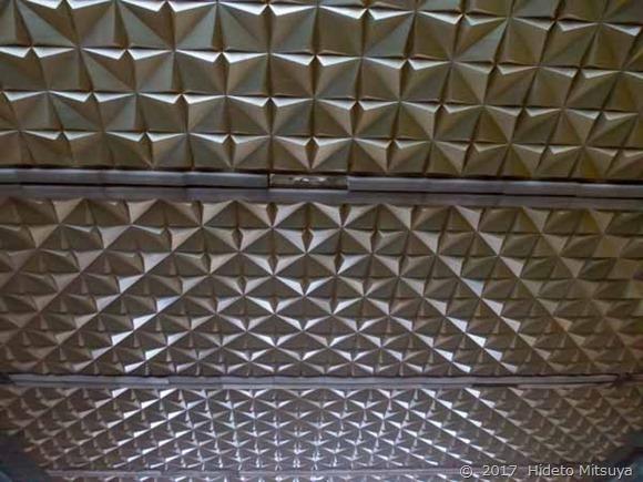 チョープ駅旧駅舎天井