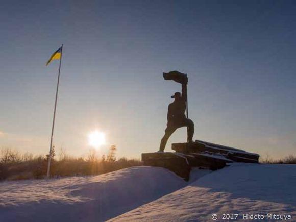 「ウクライナの解放者」像
