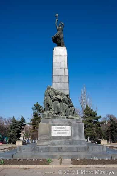 コムソモールの碑