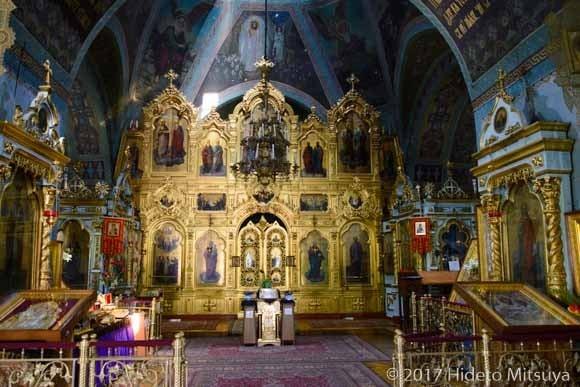 聖ティロン大聖堂内部