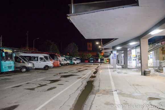 ルセのバスターミナル