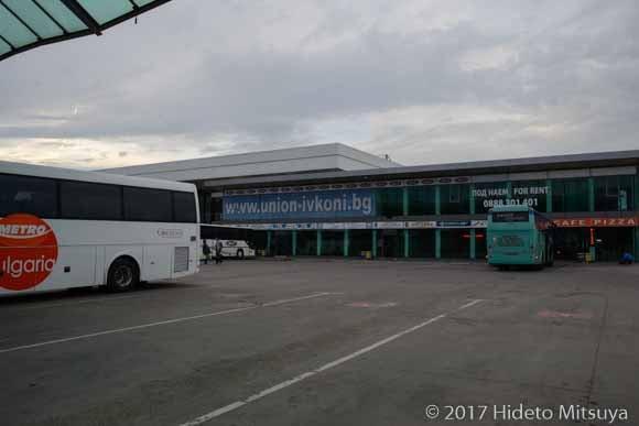 ソフィアの国際バスターミナル