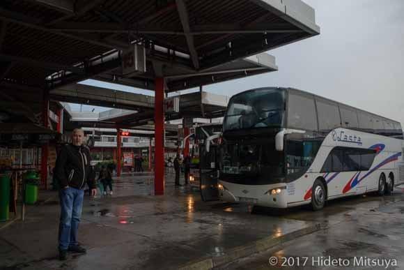 ニーシュのバスターミナル