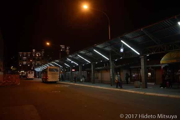 ベオグラードのバスターミナル