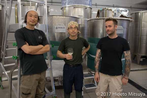 昇涙酒造のメンバー