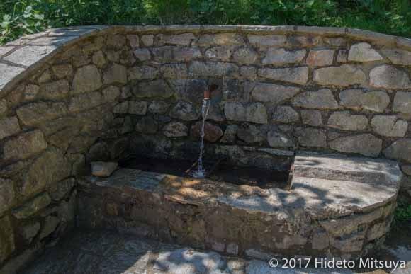 ピラ山の湧き水