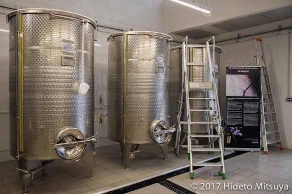 醪を発酵させるタンク