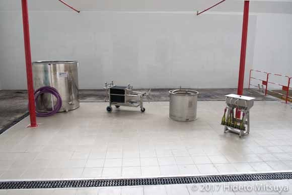 濾過機や瓶詰め機