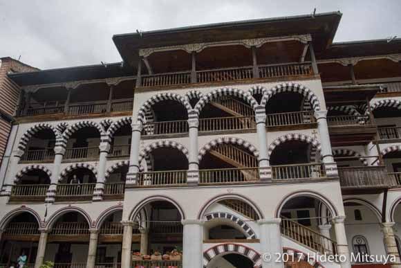 リラの修道院の宿坊