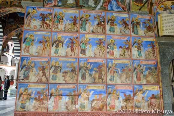 修道院のフラスコ画2