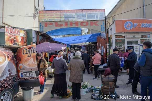 コムラトの市場