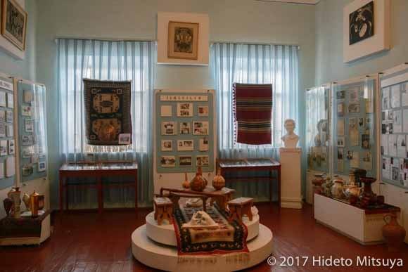 ガガウズ博物館の展示