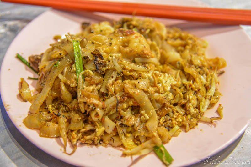 ペナンのチャークイティオ(炒粿條)