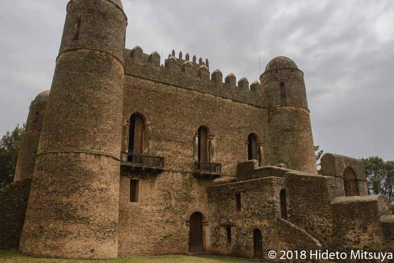 世界遺産に登録されている古都ゴンダールのお城ファジル・ゲビ