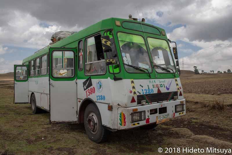 エチオピアのローカルバス
