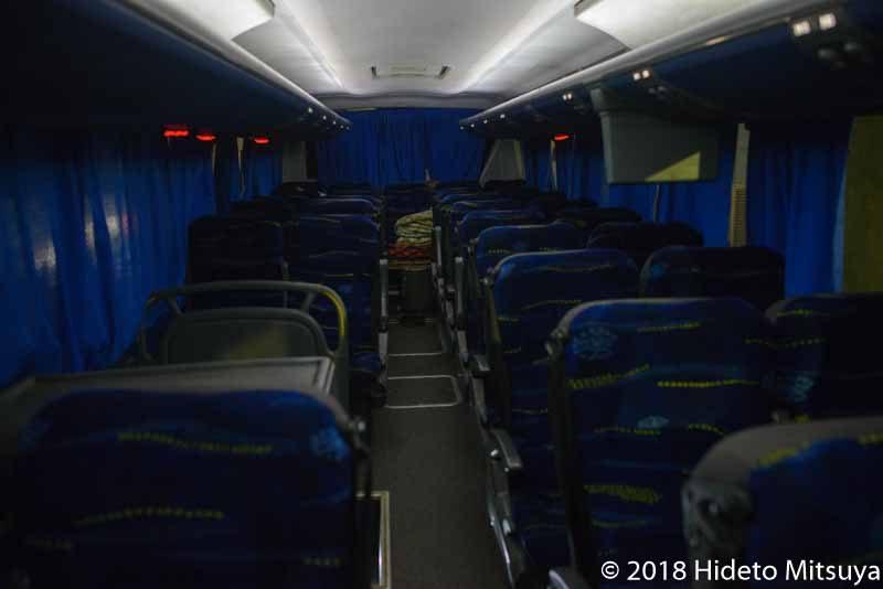 Upper Egypt社バス車内