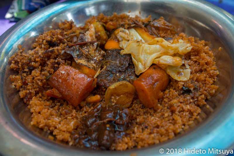 セネガルの国民食チェブジェン