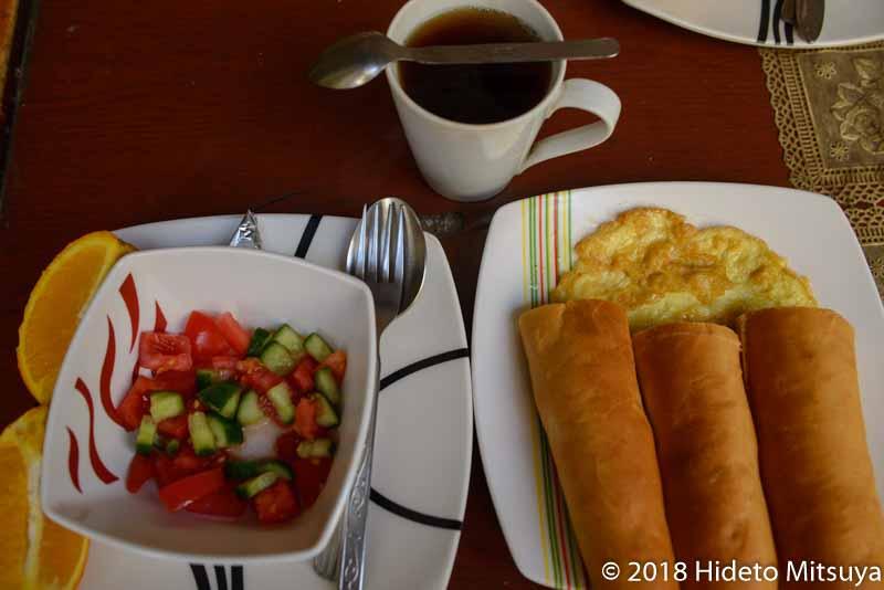 ベニス細川家朝食