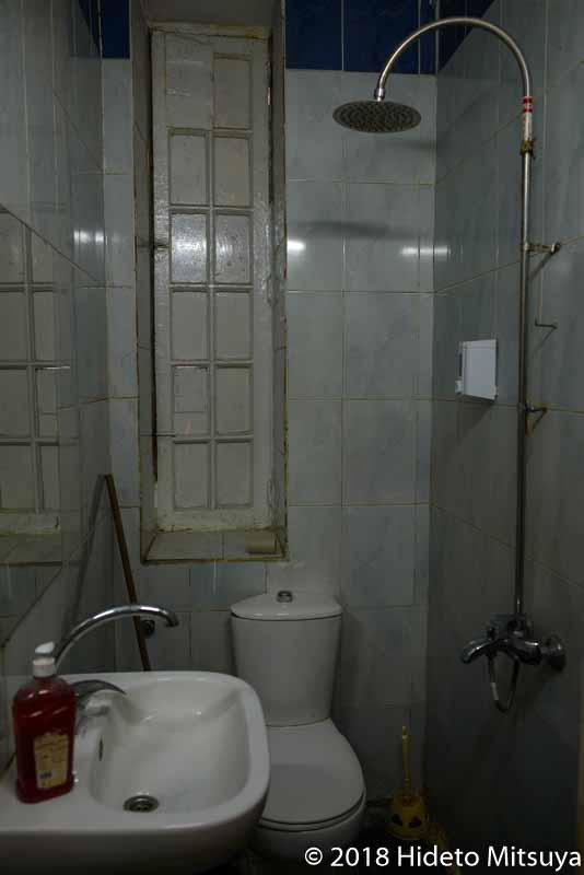 サファリのトイレ&シャワー室