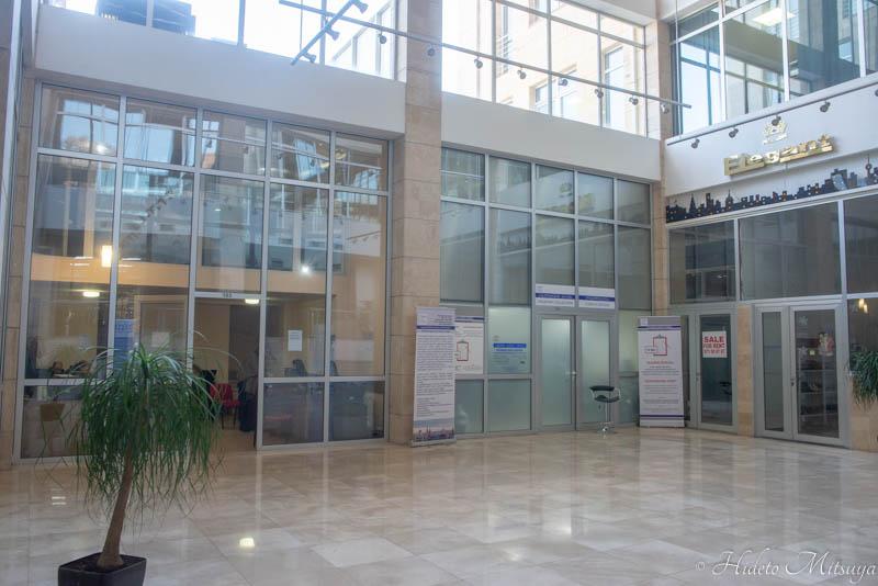 ロシアビザセンターのビザ受取場所