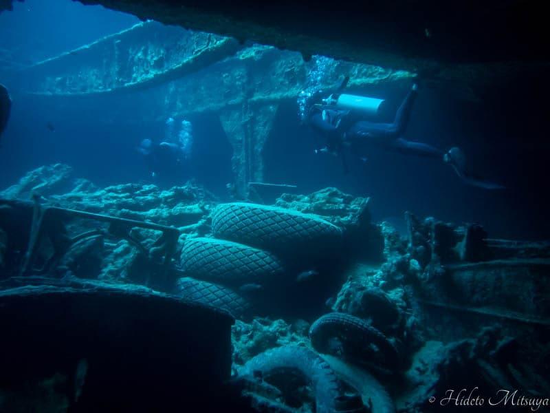 シャルムエルシェイクの沈没船