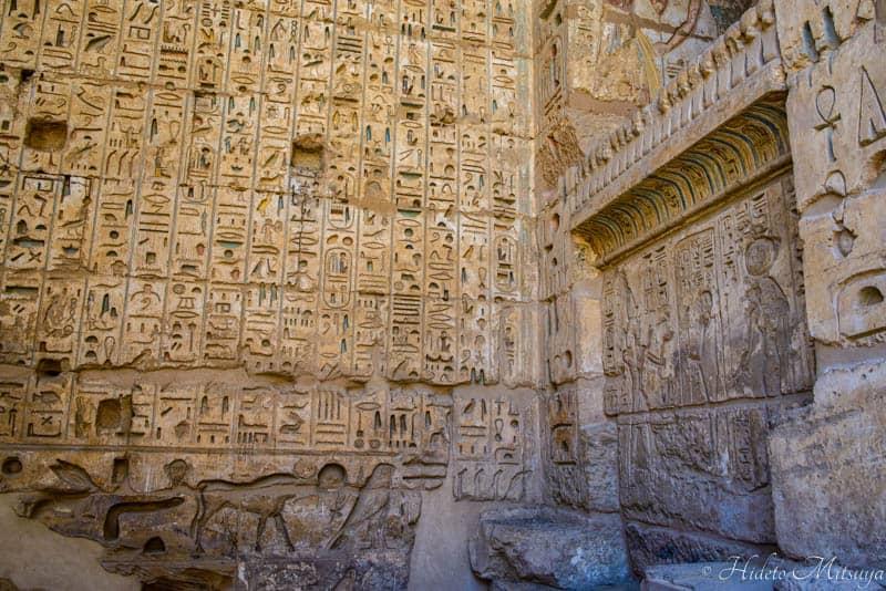 ルクソールの古代遺跡