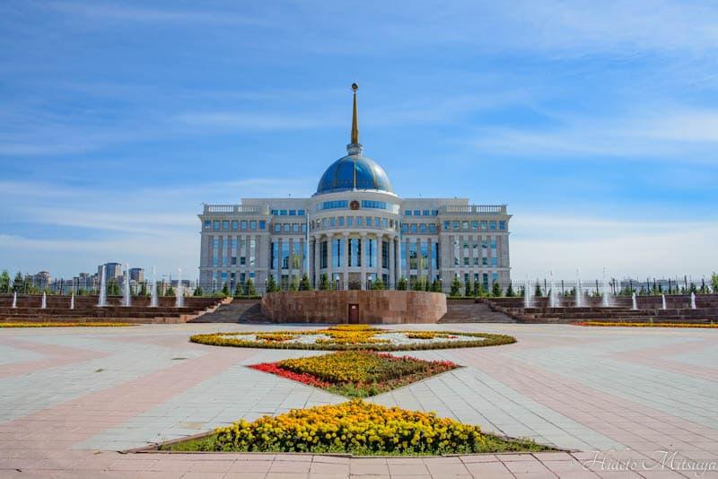 大統領宮殿アク・オルダ