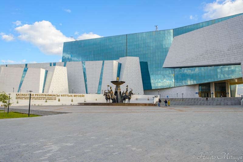 カザフスタン国立博物館外観
