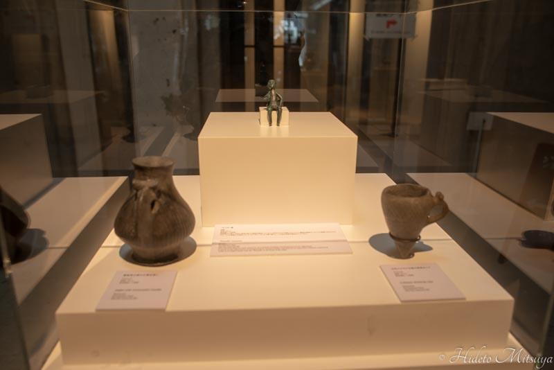 ジョージアワイン展で展示されていたタマダー像