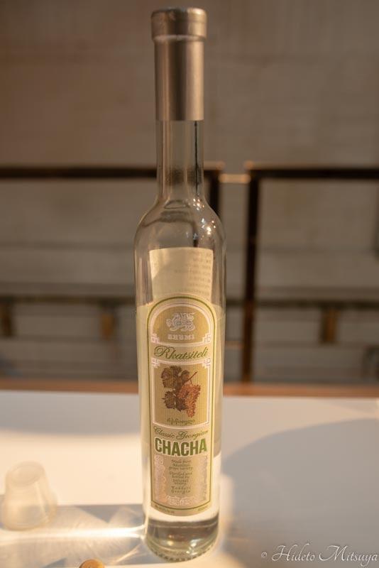 ジョージアワイン展での試飲用チャチャ