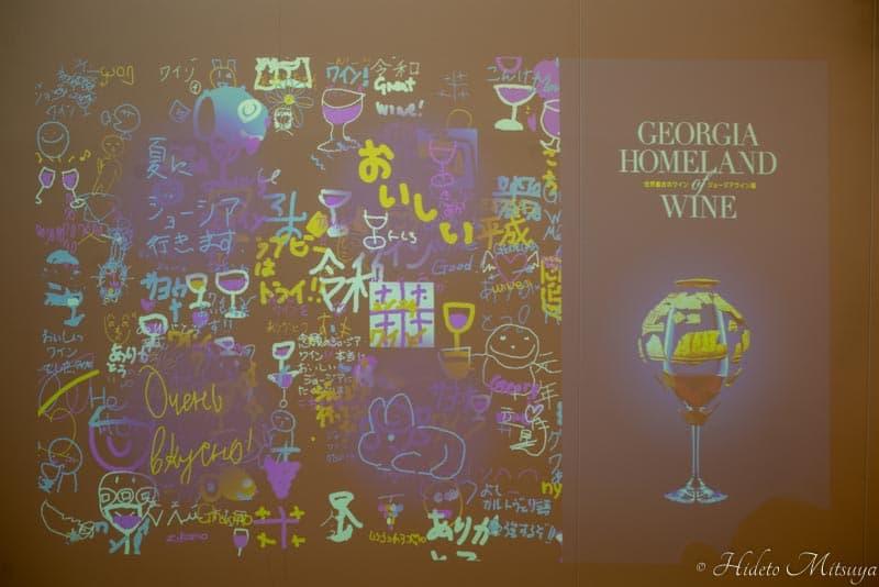 ジョージアワイン展来訪者のコメント