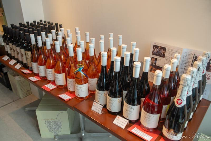 ジョージアワイン展で販売されていたワイン